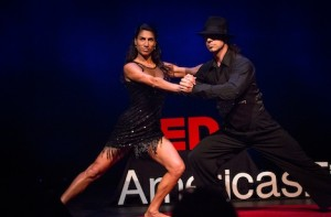 TEDx talk and dance performance 2014