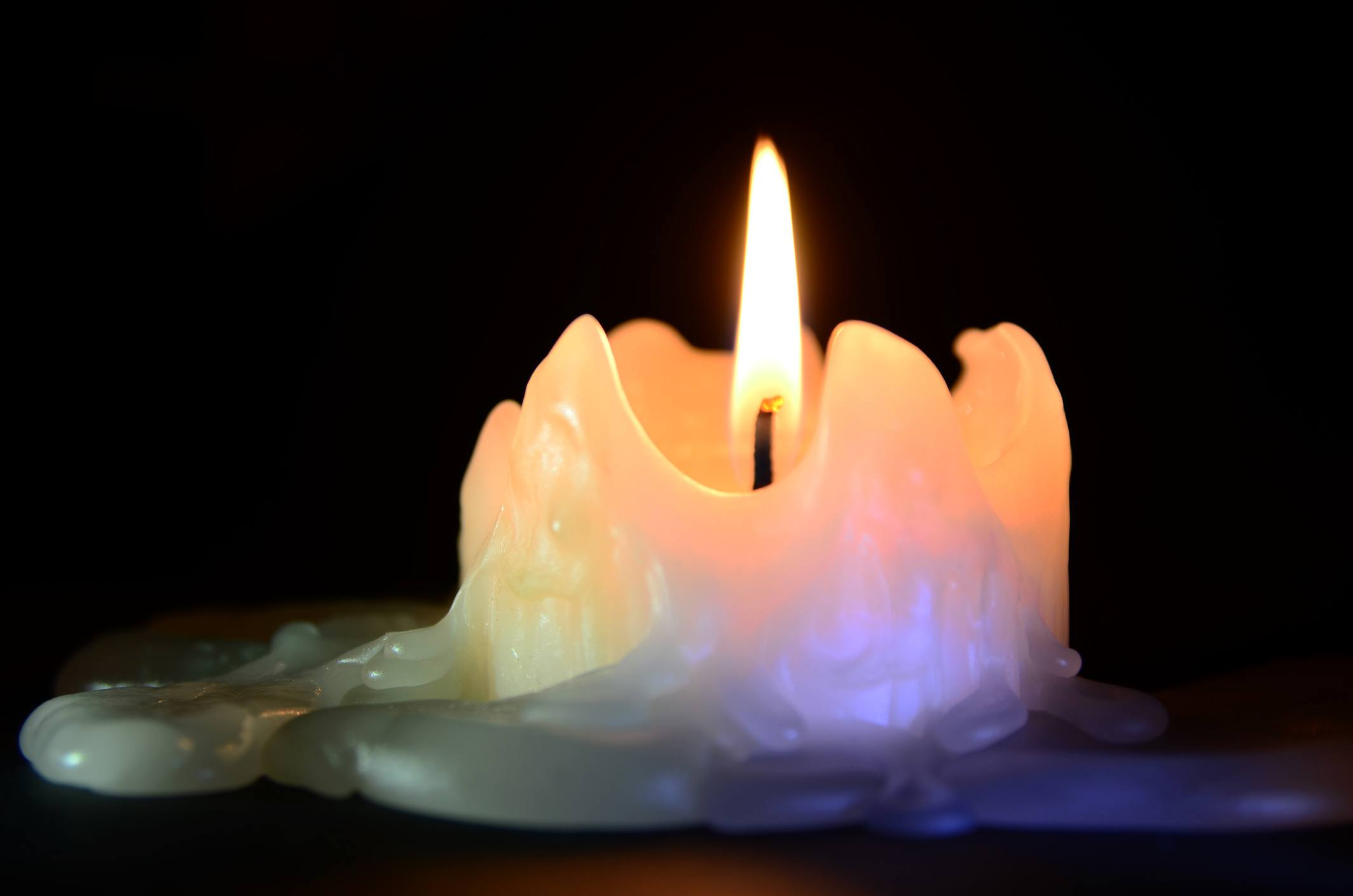 Melted_Candle