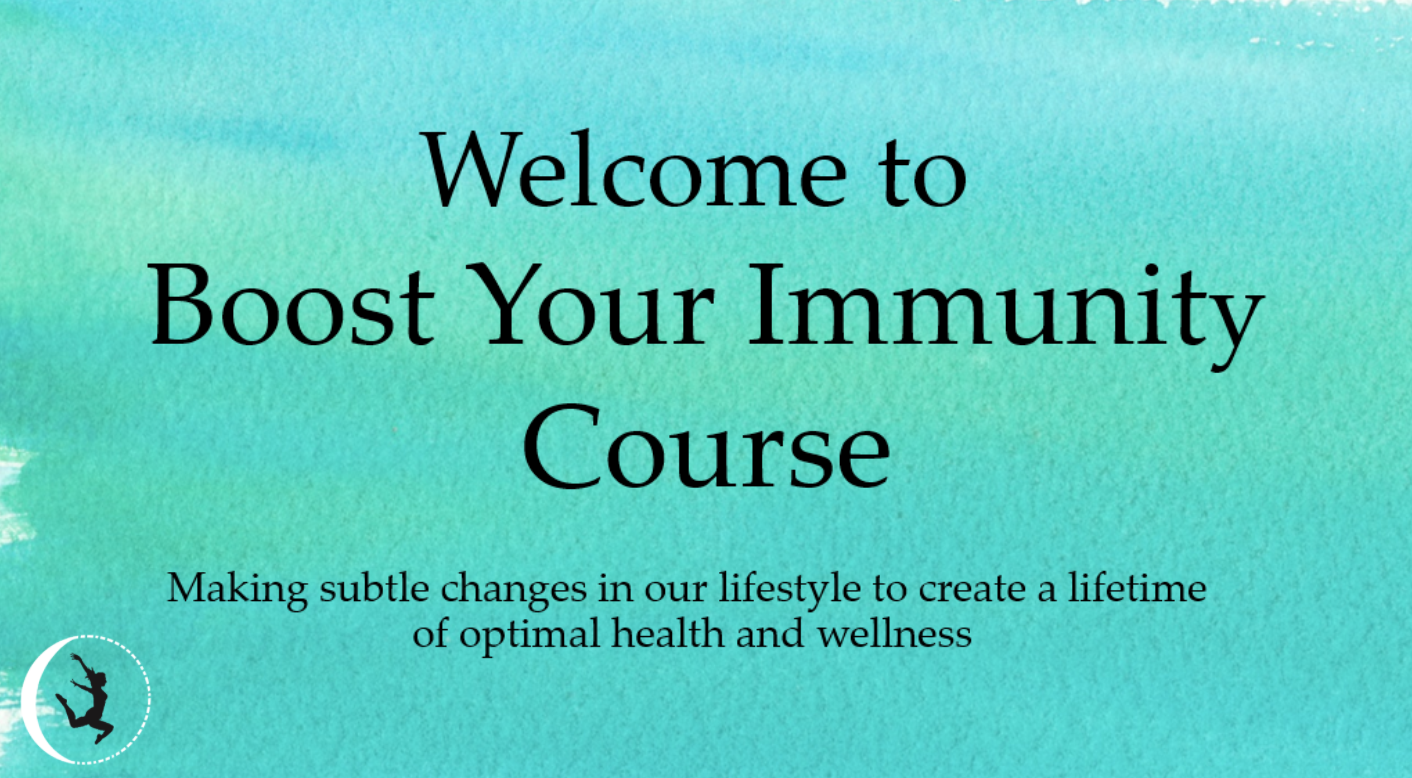 Boos Your Immunity Course